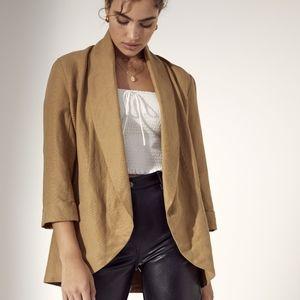 ARITZIA Wilfred Linen cardigan jacket